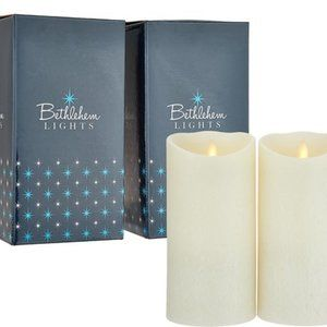 "Touch Candle Set of 2 7"" Candles in Gift Boxes"